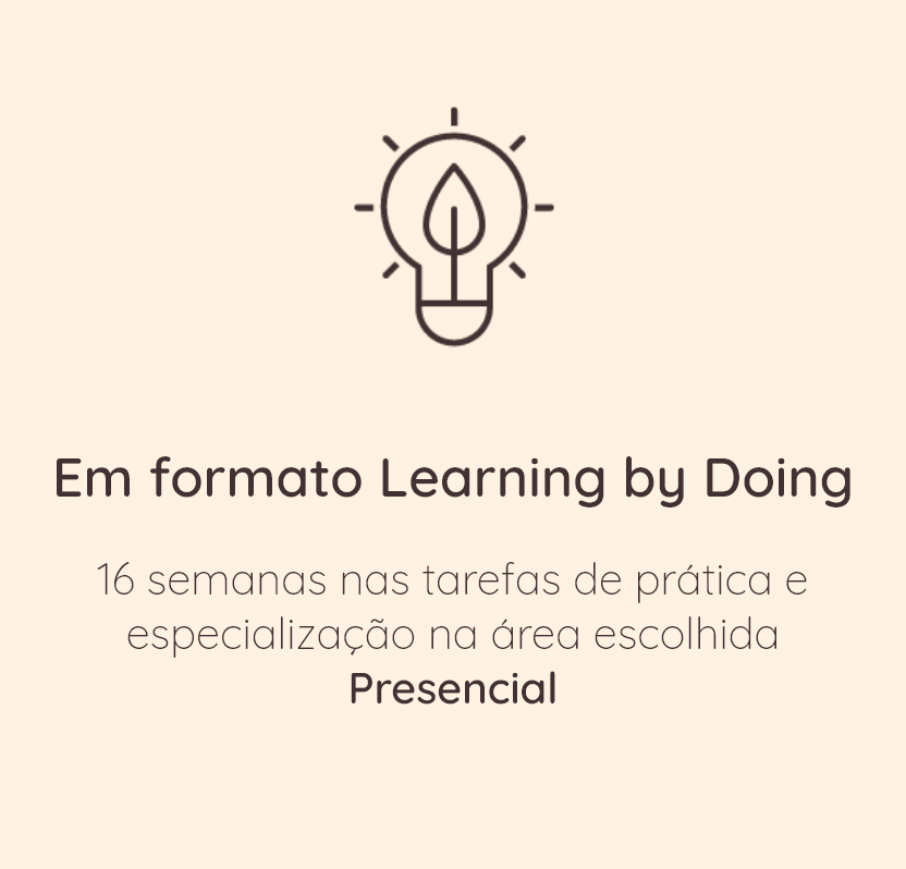 2. Em formato Learning By Doing